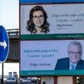 Edgar Savisaare ja Olga Ivanova plakatid