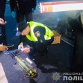 ФОТО: Здание украинского телеканала в Киеве обстреляли из гранатомета