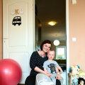 Mari asus Uku mähkmevabaduse nimel tegutsema juba alates poja 4. elukuust. | Fotod: Lauri Kulpsoo, Kristin Kaur