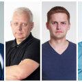 Erik Moora, Urmo Soonvald, Mihkel Tamm, Tarmo Paju.