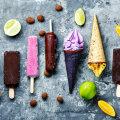Plombiir, jäätis, gelato, parfee, sorbett ja granita — mis on mis?