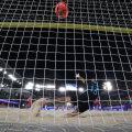 Сборная Эстонии по пляжному футболу вышла в элитный дивизион А, пройдя сложную квалификацию
