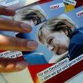 Merkeli CDU-d reklaamivad brošüürid on valmis trükitud, kuid valimiskampaania kulgeb tüünelt.