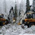 Ponsse on Soomes metsatraktorite vaieldamatu turuliider.