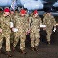 Briti sõdurid saabuvad Ämari õhubaasi