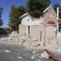 Arkalochori linna kirik pärast maavärinat