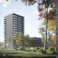 ФОТО | Смелое решение! Несмотря на пандемию, в Хааберсти строится новое высотное здание
