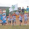Krossijooksus osales 150 jooksjat. Poiste kuni 6-aastaste jooksu võitis Jass Einassoo.