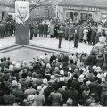 ПАМЯТНЫЙ МИТИНГ В КУРЕССААРЕ, ТОГДАШНЕМ КИНГИССЕПЕ: Открытие мемориала Виктора Кингиссепа, основателя Коммунистической партии Эстонии. 1988 год. Фото: Эндель Таркпеа / ETA