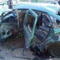 В Донбассе при подрыве автомобиля погиб полковник СБУ, трое госпитализированы с ранениями