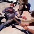 Vene palgasõdurite meelelahutus Süürias: kuvaldaga sandistamine, pea maharaiumine, laiba põletamine
