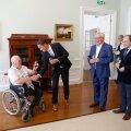 ФОТО | В доме Стенбока премьер-министр встретился со своими предшественниками