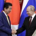 Путин и Абэ рассказали об итогах обсуждения проблемы мирного договора