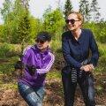 Eesti disainerid istutasid 8 000 pisikest puud