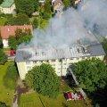 Põlenud kortermaja elanik: gaasiplahvatus? Gaasiseadmeid kontrolliti alles paar kuud tagasi