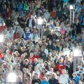 Eesti rahvas öölaulupeol Tartus