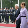 Itaalia president Sergio Mattarella kohtub Kadriorus president Kersti Kaljulaidiga