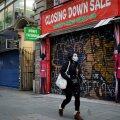 Lukkupandud Oxford Street Londonis. Mitu kaubatänaval asunud poodi on uksed alatiseks sulgenud.