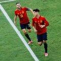Hispaania jalgpallikoondis sai lõpuks võidu kirja.