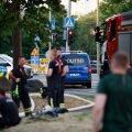 FOTOD | Tallinna kesklinnas põles kolmekordne maja