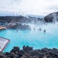 Sinise laguuni geotermiline spaa Islandil