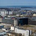 Tallinn, 20.04.2020. Ülemiste linnaku droonifotod.