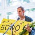 Eesti Kunstnike Liidu 20. aastanäituse publikuauhinna tseremoonia