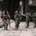 Süüria Demokraatlike Jõudude võitlejad Manbijist