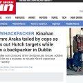 The Irish Sun: Imre Arakas teeskles turisti ja jalutas läbi võimaliku ohvri teekonna