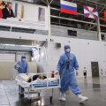 Venemaal suri teist päeva järjest koroonaviiruse tõttu rekordarv inimesi