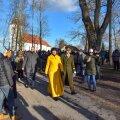 President Kersti Kaljulaid tänavu vabariigi aastapäeval Viljandis.