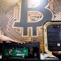 Bitcoini hind langes madalaimale tasemele alates 28. jaanuarist.
