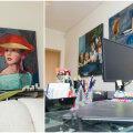 FOTOD │ Sisearhitekti kodune kontor muutus kaheks päevaks avalikuks kunstisaaliks