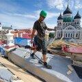 Toompea lossi katuse remont