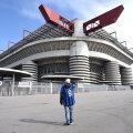 Milano Interi Euroopa liiga mäng toimub kinniste uste taga