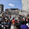 Päästjad Mexico Citys rusude alt inimesi otsimas.