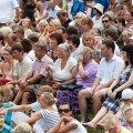 Tänavune kuum suvi paneb teatrikülastajad proovile.