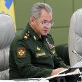 Venemaa kaitseminister Šoigu teatas lõuna ja lääne sõjaväeringkondade vägede kontrollõppuste lõpust