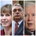 Financial Times vastandab ühendaja Kersti Kaljulaidi mässajatele Orbánile ja Kaczyńskile