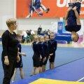 FOTOD JA VIDEO   Peadpööritavad hüpped ja rütmikad kavad Eesti meistrivõistlustel akrobaatilises rühmvõimlemises