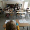 Tallinn, 29.05.2020. Lõpukirjandi kirjutamine Tallinna 21. koolis.