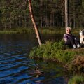 Marilin Pehka on elanud ilma partnerita tosin aastat ja neist seitse veetnud Kõrvemaal metsatalus.