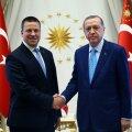 Jüri Ratas ja Recep Tayyip Erdoğan