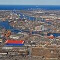 Remontowa laevatehase 150 hektari suurune ala ülaltvaates