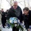 Edgar Savisaar 2010. aastal Jaan Poskat mälestamas