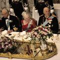 Rootsi, Taani ja Norra monarhid, mullu koos kuningannadega pidulauas
