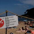 Ситуация накаляется: в Испании снова закрывают пляжи