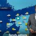 VIDEO   Soome televisioon ennustas homseks pidupäevaks ilma eesti keeles