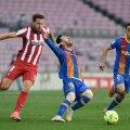 FC Barcelona ja Madridi Atletico lahingus jäid väravad löömata.