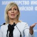 """Захарова ответила на слова эстонских политиков о Тартуском мире: """"видимо, кризис развития"""""""